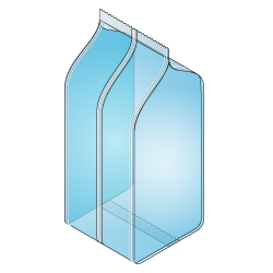 Block Bottom Bag with Vertical Seal