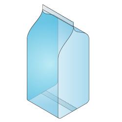 Block Bottom Bag