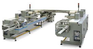 On Pile Biscuit Wrapping Machine