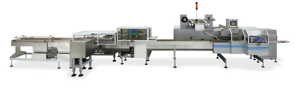 Packaging line for plain and coated Wafers