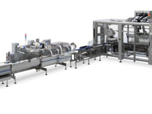 Fully automatic system for high speed packing of cereal bars